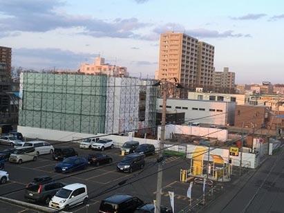 クリーンリバーフィネス南郷18丁目駅前新築工事