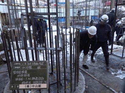 ウエスト棟1工区杭監理者検査/TAC構造設計