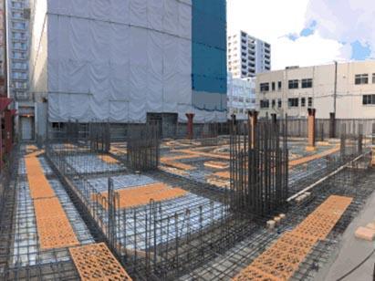 ウエスト棟 1F 2工区 コンクリート打設前状況