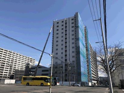 クリーンリバーフィネス札幌ミッドステージ センター・ウエスト新築工事