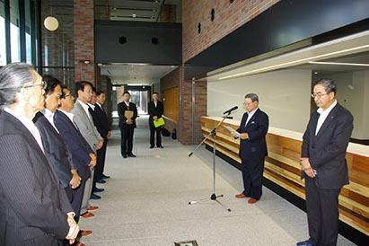 栄町3-3地区再開発事業完了式 H30.7.30