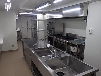 現場内部全景(1F厨房) H31.2.25