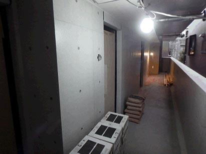 共用廊下仕上げ状況 H30.12.28