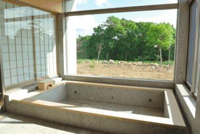 1階温泉浴槽全景