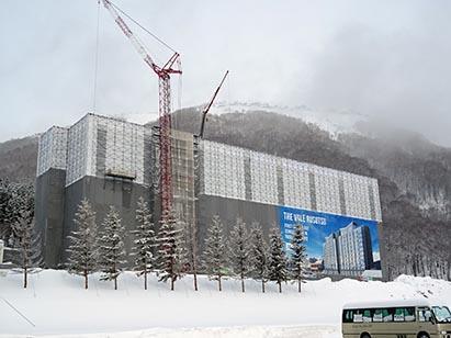(仮称)ルスツリゾートホテル新築工事