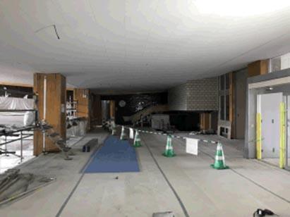 ②工区天井張り完了(1F) H30.11.13