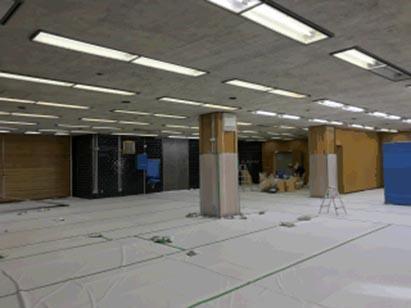 ⑨工区天井アスベスト除去完了(2F) H30.11.15