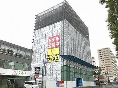 クリーンリバーフィネス南郷18丁目駅前Ⅱ新築工事