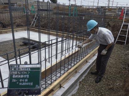 物置・キュービクル基礎 監理者配筋検査 R1.7.30