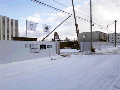 クリーンリバーフィネス月寒ミッドステージ新築工事