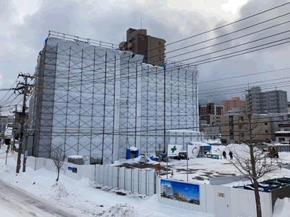 クリーンリバーフィネス手稲ミッドステージ 新築工事