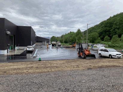 大雪水資源保全センター保管倉庫増築工事